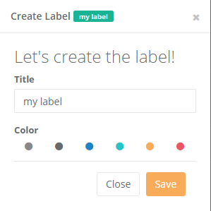 Code Snippet Manager, create multiple labels.